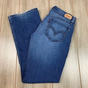 Levi's 524 Too Superlow Flare Jeans Size 11 M